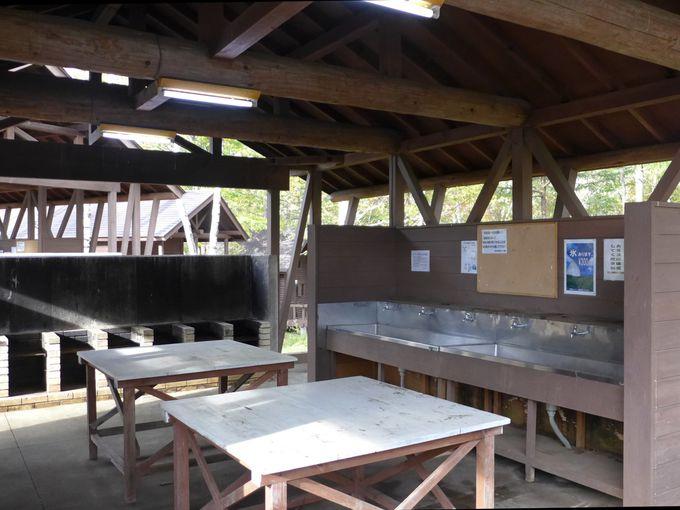 キャンプ場の設備について