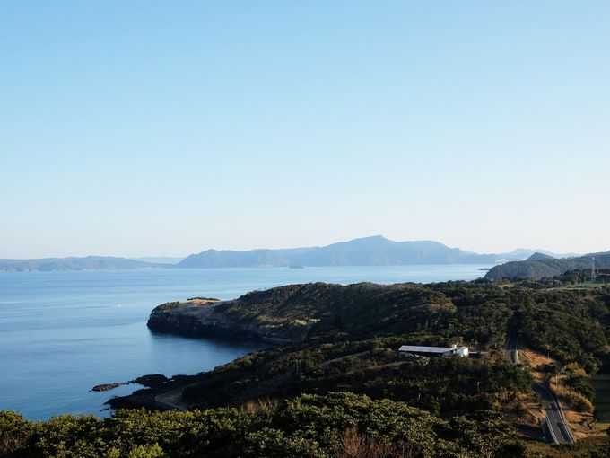 ロケ地に使われる「生月島」の絶景ルート