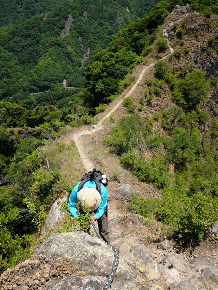 頂上から下山まで