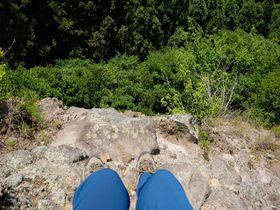 大分「中山仙境」は危険な山岳修行道!滑落に注意して歩こう