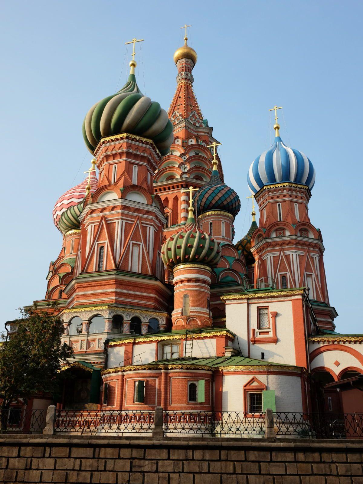 フォトジェニックな聖ワシリイ大聖堂