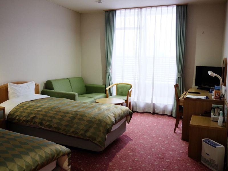 広くて快適「ホテル・ラブニール」
