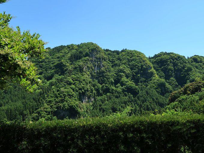 お風呂から見えるのは山と川!いつまでも眺めていたい景色