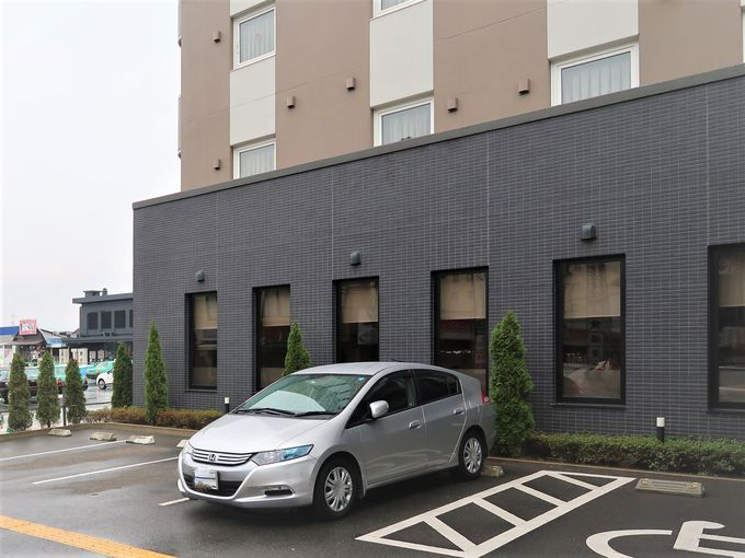 日田駅に隣接しているから、博多や由布院に行くのも便利です