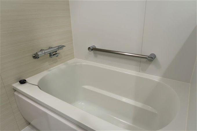 お風呂とトイレは別々で快適!