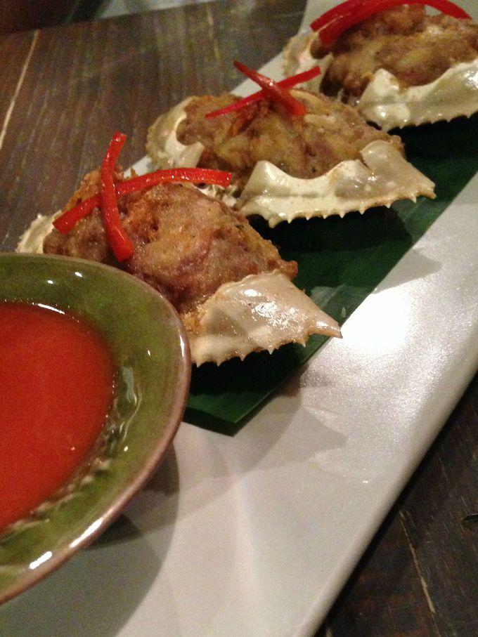 蟹料理とトムヤンクンの美味しさに感動!