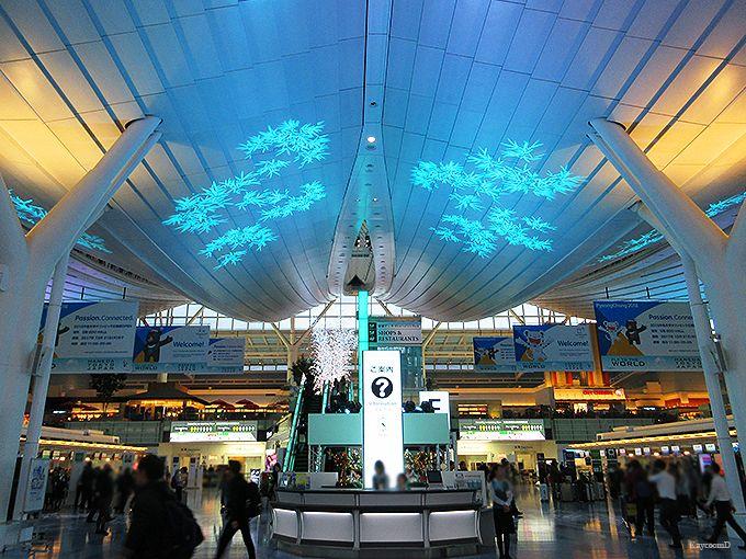 空港全体が輝くイルミネーション!羽田空港のイベントと見どころ紹介