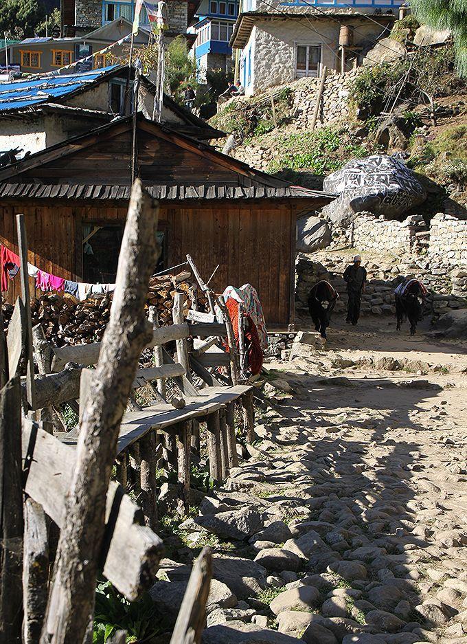 ヒマラヤの麓の村々を巡るエベレスト街道