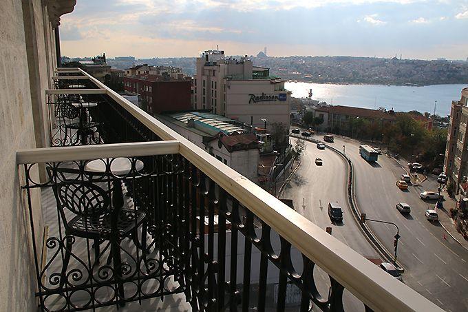 イスタンブールの眺めが一望