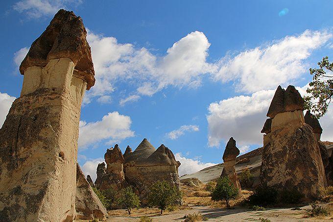 洞窟と奇岩が織り成す世界遺産カッパドキア