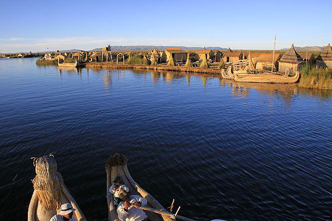 天空の湖チチカカ湖