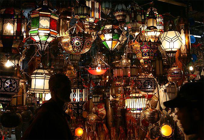 マラケシュのメディナは光と色があふれる世界