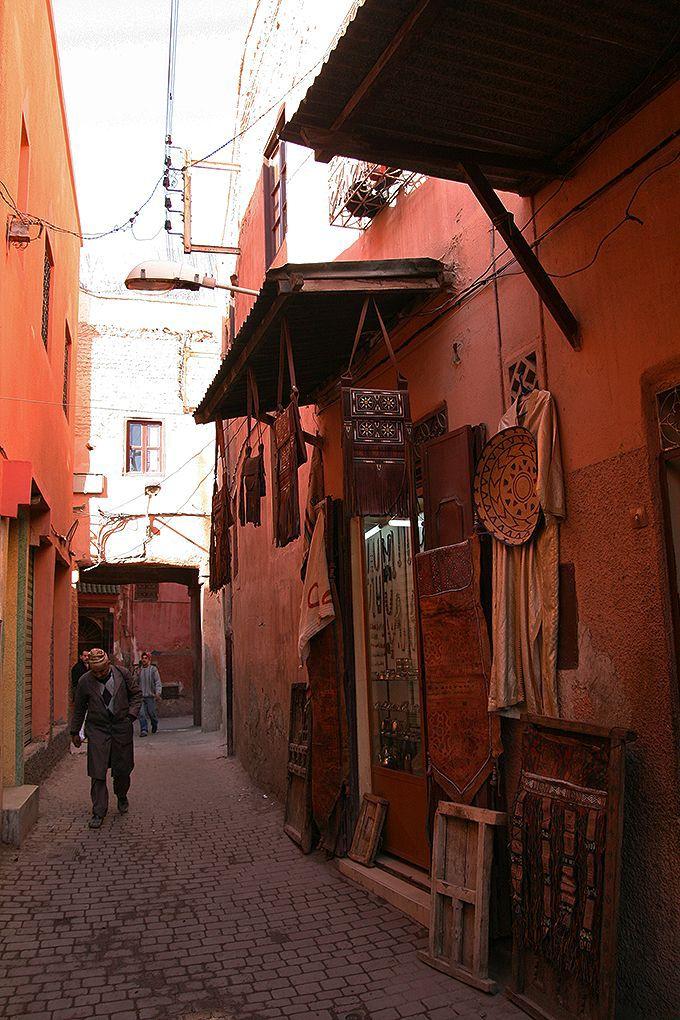 世界遺産マラケシュの旧市街