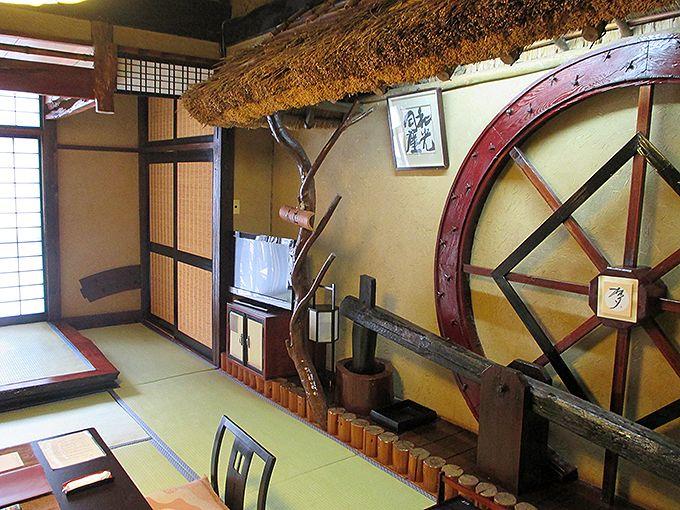 ひとつひつ違う趣のある純和風の部屋