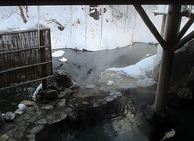 湯西川温泉発祥の湯