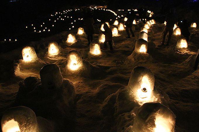 日本夜景遺産に選ばれた「かまくら祭」