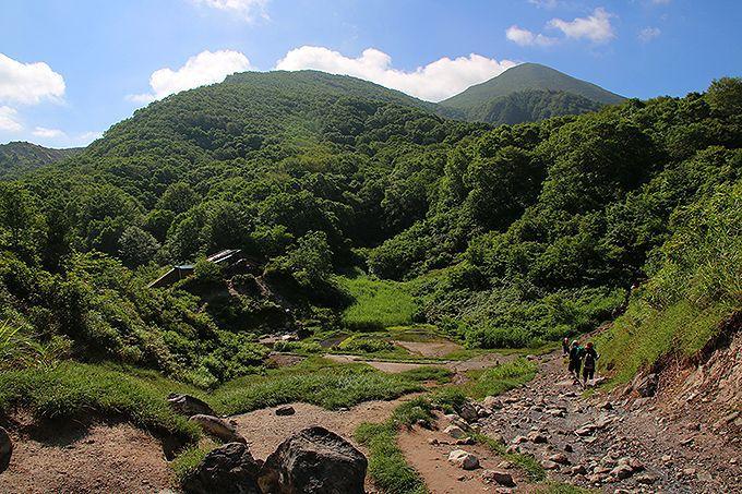 八方台登山口からスタート