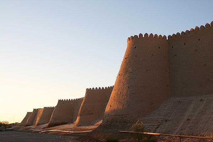 イチャン・カラは城壁も美しい