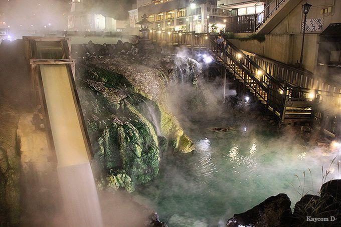 群馬の有名温泉地といえば!湯畑も美しい天下の名湯「草津温泉」