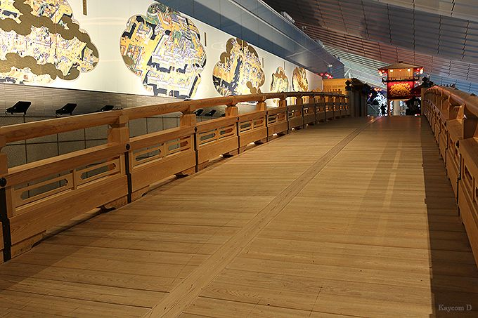 空港で日本橋を渡ろう