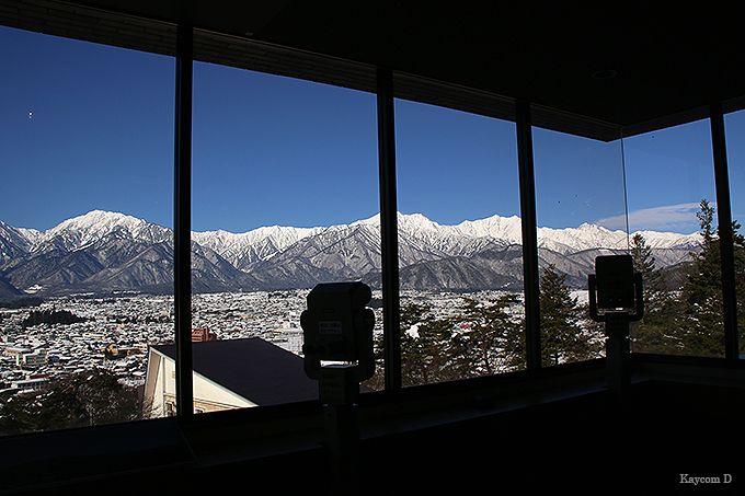 山岳博物館からの展望