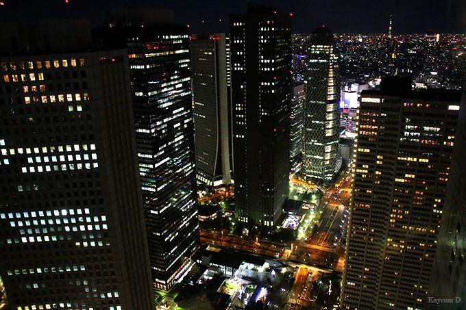 新宿西口の高層ビル街
