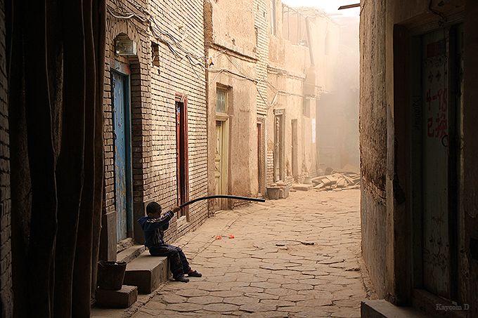 新疆ウイグル自治区のカシュガルでウイグル民族の文化に触れる