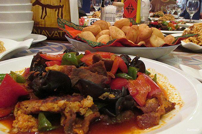 キルギスの伝統的な料理
