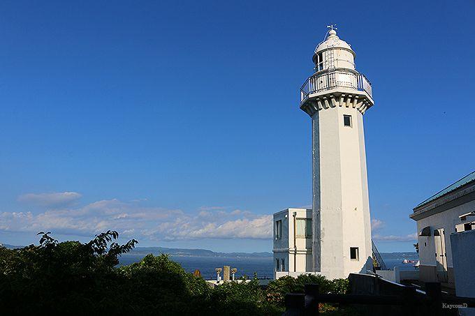 世界の船舶が見られる観音崎灯台