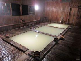標高1200mの濁り湯!福島「野地温泉ホテル」の多彩なお風呂で温泉三昧