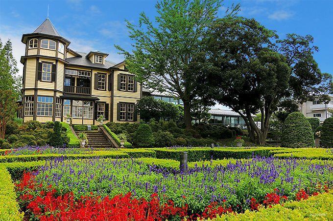 国の重要文化財「外交官の家」がある「イタリア山庭園」