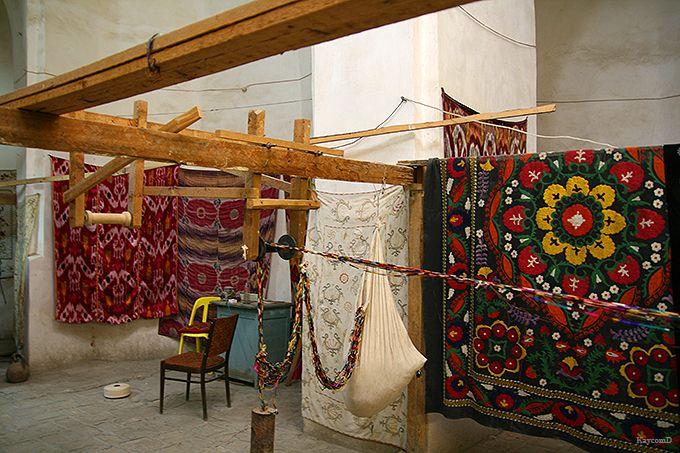 織物やハサミの工房