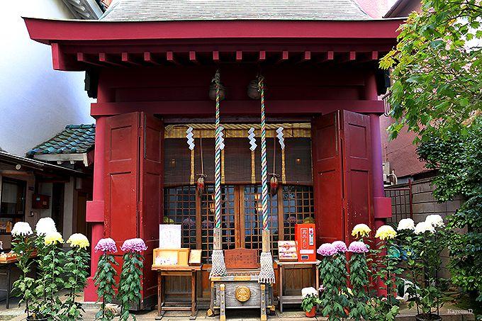末廣神社(毘沙門天)・笠間稲荷神社(寿老人)・茶ノ木神社(布袋尊)