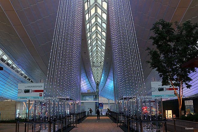 空港全体が輝くイルミネーション!東京・羽田空港の季節限定イベントに注目