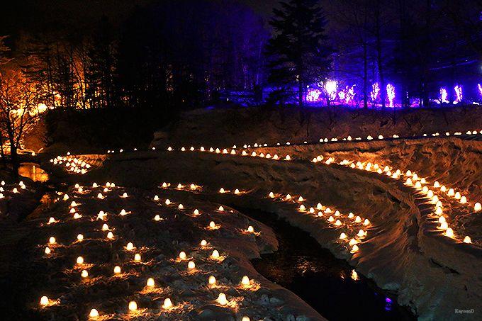 栃木県・湯西川温泉の日本夜景遺産「かまくら祭」は癒やしのイルミ