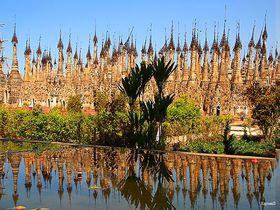 仏塔が奏でる音色に感動!ミャンマー「カックー遺跡」を巡る