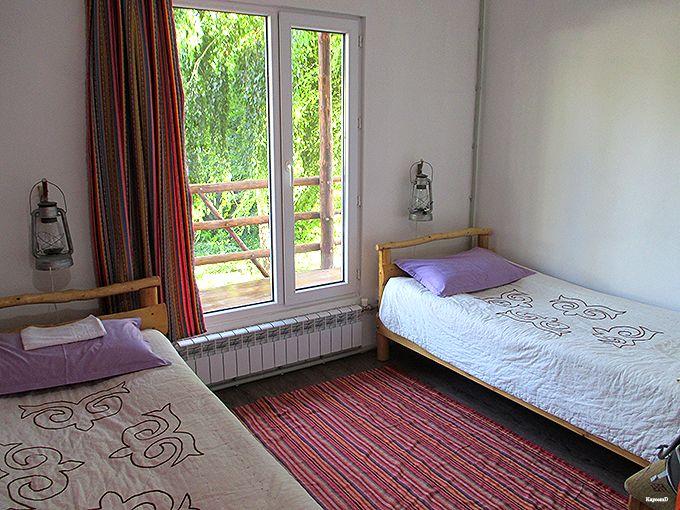 清潔で居心地の良い部屋