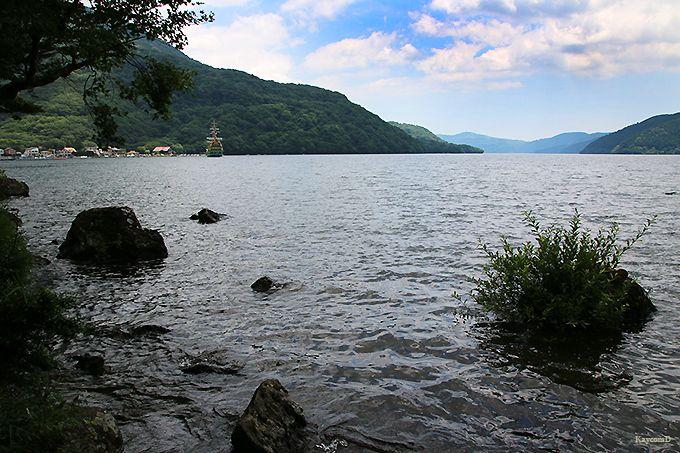 湖尻水門から桃源台
