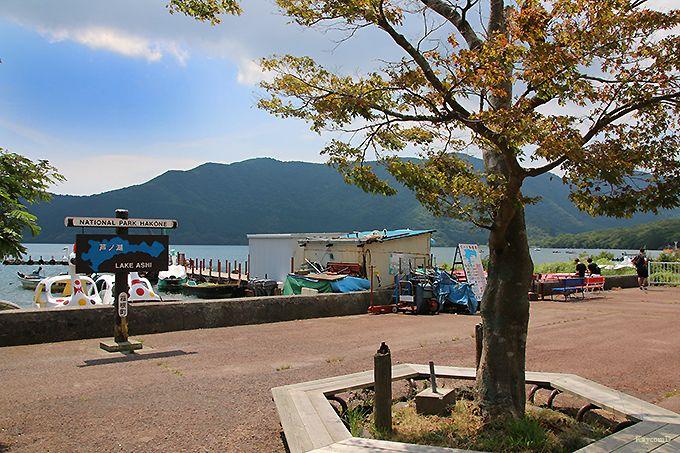 桃源台から湖尻ターミナル