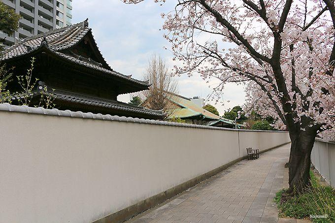 荏原神社と品川橋
