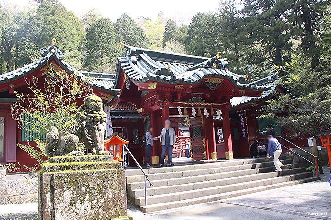 2.箱根神社/箱根町