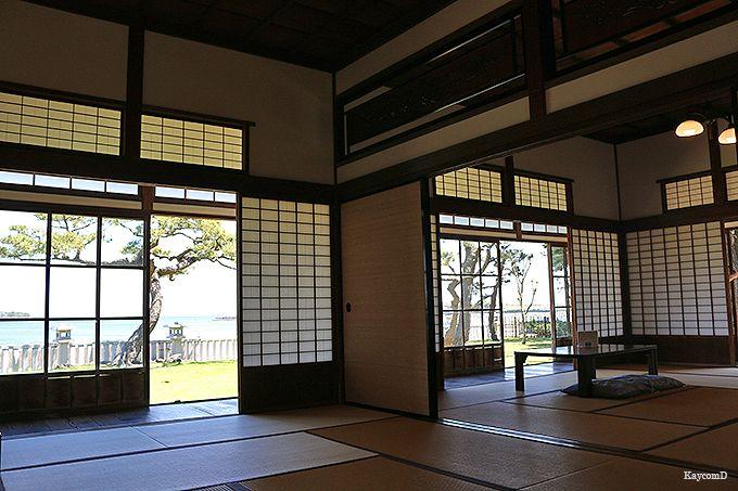 野島公園展望台〜旧伊藤博文金沢別邸