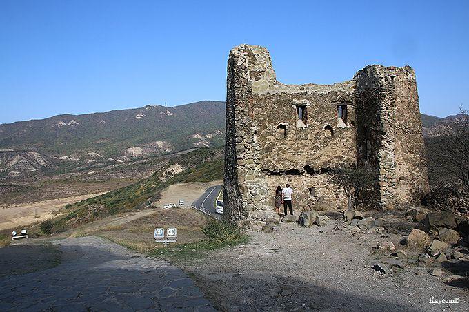 残された城壁