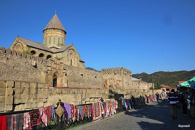 命の柱の世界遺産!ジョージア最古のスヴェティツホヴェリ大聖堂