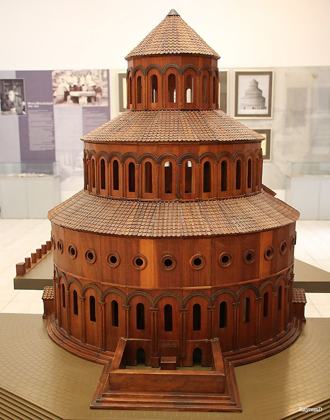 大聖堂の模型がある博物館