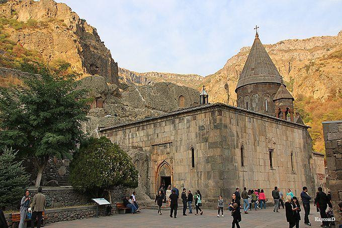 世界遺産「ゲガルド修道院」