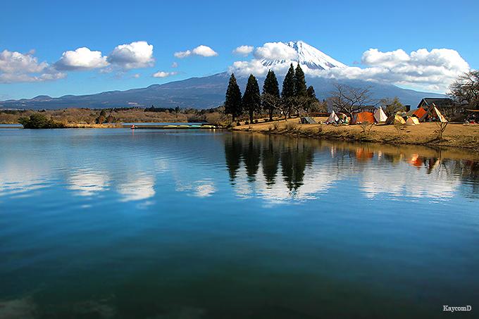 富士山を見ながら田貫湖一周!1時間で歩けるハイキングコース