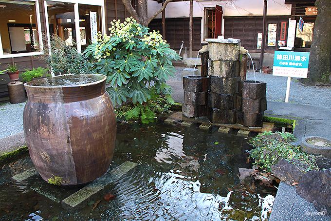 湧水グルメが楽しめる「湧水の道」