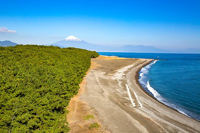 羽衣伝説の三保半島!静岡・三保松原と沿岸の世界遺産を楽しもう