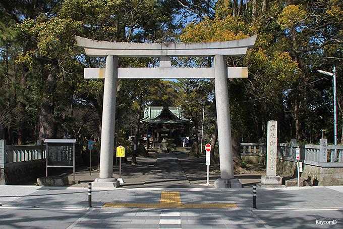 羽衣伝説ゆかりの「御穂神社」と「神の道」